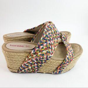 Kensie Girl Wedge Platform Espadrilles Shoes